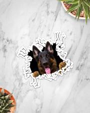German Shepherd Crack Sticker - 4 pack (Vertical) aos-sticker-4-pack-vertical-lifestyle-front-06