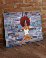 I am black 20x16 Gallery Wrapped Canvas Prints aos-canvas-pgw-20x16-lifestyle-front-09