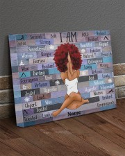 I am black 20x16 Gallery Wrapped Canvas Prints aos-canvas-pgw-20x16-lifestyle-front-10