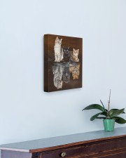 3 Cats 11x14 Gallery Wrapped Canvas Prints aos-canvas-pgw-11x14-lifestyle-front-01