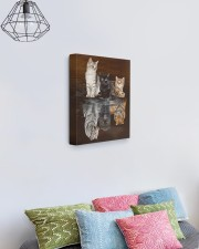 3 Cats 11x14 Gallery Wrapped Canvas Prints aos-canvas-pgw-11x14-lifestyle-front-02
