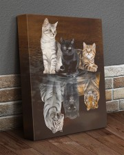 3 Cats 11x14 Gallery Wrapped Canvas Prints aos-canvas-pgw-11x14-lifestyle-front-10