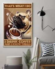 Fawn Pug That's What I Do 11x17 Poster lifestyle-poster-1