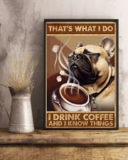 Fawn Pug That's What I Do 11x17 Poster lifestyle-poster-3