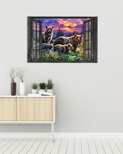 Bear 6 36x24 Poster poster-landscape-36x24-lifestyle-01