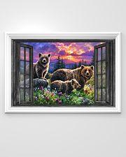 Bear 6 36x24 Poster poster-landscape-36x24-lifestyle-02