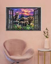 Bear 6 36x24 Poster poster-landscape-36x24-lifestyle-19