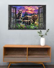 Bear 6 36x24 Poster poster-landscape-36x24-lifestyle-21
