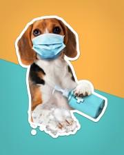 Beagle wash hands Sticker - Single (Vertical) aos-sticker-single-vertical-lifestyle-front-02