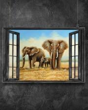 Elephant 1 36x24 Poster aos-poster-landscape-36x24-lifestyle-11