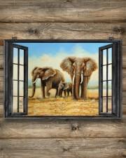 Elephant 1 36x24 Poster aos-poster-landscape-36x24-lifestyle-13