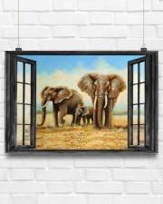 Elephant 1 36x24 Poster aos-poster-landscape-36x24-lifestyle-16