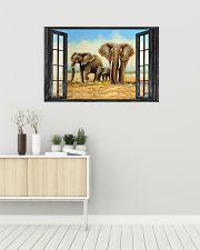 Elephant 1 36x24 Poster poster-landscape-36x24-lifestyle-01