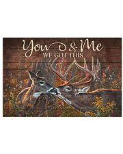 Deer 36x24 Poster front