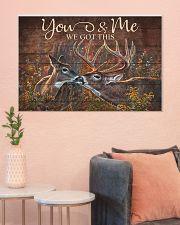 Deer 36x24 Poster poster-landscape-36x24-lifestyle-18