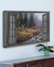 Autumn Deer 30x20 Gallery Wrapped Canvas Prints aos-canvas-pgw-30x20-lifestyle-front-01