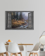 Autumn Deer 30x20 Gallery Wrapped Canvas Prints aos-canvas-pgw-30x20-lifestyle-front-05