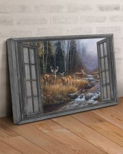 Autumn Deer 30x20 Gallery Wrapped Canvas Prints aos-canvas-pgw-30x20-lifestyle-front-07