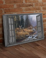 Autumn Deer 30x20 Gallery Wrapped Canvas Prints aos-canvas-pgw-30x20-lifestyle-front-09