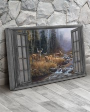 Autumn Deer 30x20 Gallery Wrapped Canvas Prints aos-canvas-pgw-30x20-lifestyle-front-13