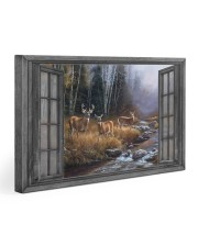 Autumn Deer 30x20 Gallery Wrapped Canvas Prints front