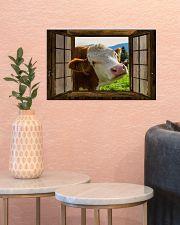 Cow 17x11 Poster poster-landscape-17x11-lifestyle-21