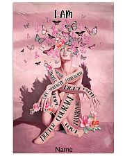 Pink butterfly 16x24 Poster front