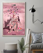 Pink butterfly 16x24 Poster lifestyle-poster-1