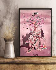Pink butterfly 16x24 Poster lifestyle-poster-3