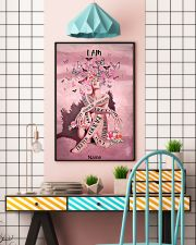 Pink butterfly 16x24 Poster lifestyle-poster-6
