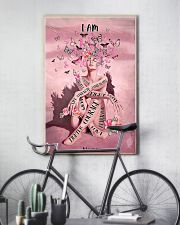 Pink butterfly 16x24 Poster lifestyle-poster-7