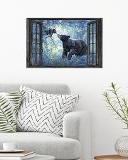 Bear 1 24x16 Poster poster-landscape-24x16-lifestyle-01