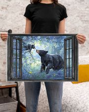 Bear 1 24x16 Poster poster-landscape-24x16-lifestyle-20