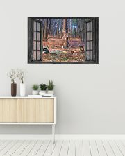 Deer 18 36x24 Poster poster-landscape-36x24-lifestyle-01
