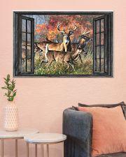Deer 15 36x24 Poster poster-landscape-36x24-lifestyle-18