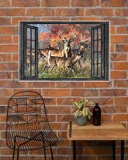 Deer 15 36x24 Poster poster-landscape-36x24-lifestyle-20