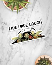 Live Love Laugh Sticker - Single (Horizontal) aos-sticker-single-horizontal-lifestyle-front-06
