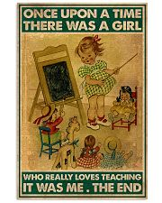 TEACHING 11x17 Poster front