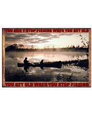 Fishing 17x11 Poster front