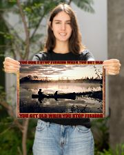 Fishing 17x11 Poster poster-landscape-17x11-lifestyle-19