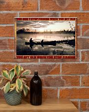 Fishing 17x11 Poster poster-landscape-17x11-lifestyle-23