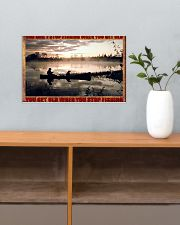 Fishing 17x11 Poster poster-landscape-17x11-lifestyle-24