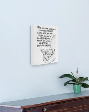 Baby Elephant 11x14 Gallery Wrapped Canvas Prints aos-canvas-pgw-11x14-lifestyle-front-01