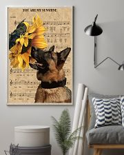 German Shepherd You Are My Sunshine 11x17 Poster lifestyle-poster-1