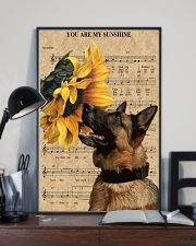 German Shepherd You Are My Sunshine 11x17 Poster lifestyle-poster-2
