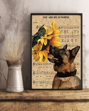 German Shepherd You Are My Sunshine 11x17 Poster lifestyle-poster-3