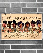 God say you are 17x11 Poster poster-landscape-17x11-lifestyle-18