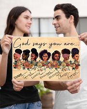 God say you are 17x11 Poster poster-landscape-17x11-lifestyle-20