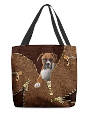 Boxer All-over Tote back