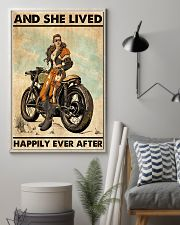 Biker Girl 11x17 Poster lifestyle-poster-1